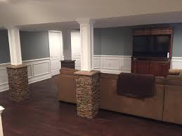 basement wrap basement column wrap ideas basement