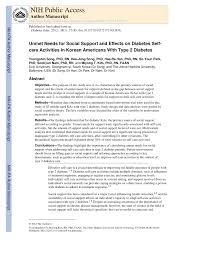 activit des si es sociaux unmet needs for social support and pdf available