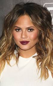 oblong face low hairline how to wear a center part no matter your hair type or face shape