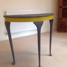 Gumtree Console Table Original Half Moon Console Table Shabby Chic In Lincoln