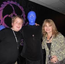 Blue Man Group Halloween Costume Famed Wrestler Matt Hardy Attends Blue Man Group Monte Carlo