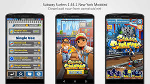 subway surfers hack apk free subway surfers 1 44 1 apk modded unlimited new york usa
