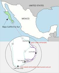 Cabo San Lucas Mexico Map by About Bisbees Com
