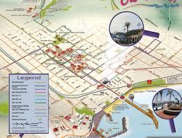 santa barbara california map santa barbara car free map santa barbara ca mappery