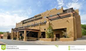 Santa Fe Style House Plans by Adobe Architecture Style House In Sata Fe New Stock Photo Image