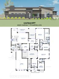 house plan with courtyard adobe house plans with courtyard cheerful 2 center plan md central