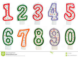number birthday candles birthday candles stock image image of seven background 21014833