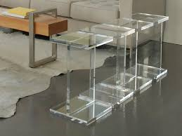 Acrylic Bar Table Modern Contemporary Lucite Bar Stools Cabinet Hardware Room
