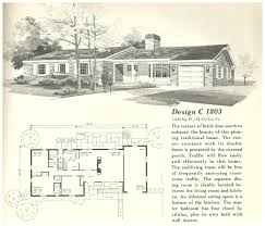 1960 ranch style house plans for homes house plans