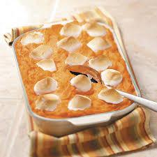 best yam recipes thanksgiving pineapple sweet potato casserole with marshmallows recipe taste
