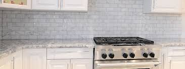 WHITE CARRARA SUBWAY BACKSPLASH TILE Backsplashcom - Gray backsplash tile
