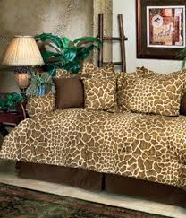 Daybed Comforter Set Comforter For Daybed Giraffe Animal Print Safari Daybed Comforter