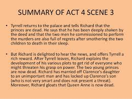 themes for hamlet act 2 richard the third act 4 scene 3 5
