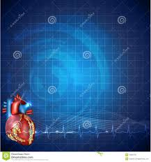 cardiology technology background stock vector image 39095796
