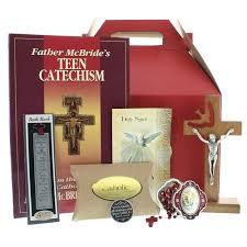 catholic confirmation gifts confirmation gift basket the catholic company