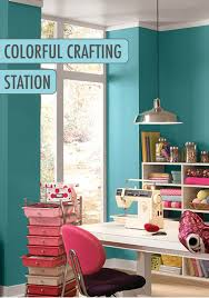 everyone needs an uplifting paint color in their office or