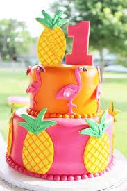 Pool Party Ideas Tropical Flamingo Birthday Cake Flamingo Party Cake Tropical