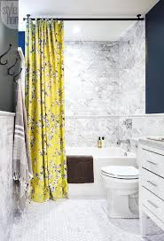 Blue And Yellow Shower Curtains Bathroom Interior Shower Curtain Ideas Yellow Bathroom Curtains