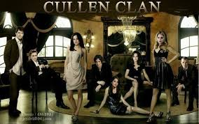 in which order presented it cullen family in the book