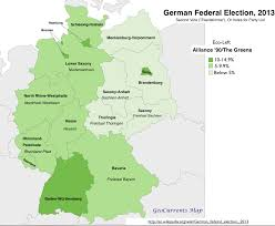 Map Of Eastern States by Geographical Patterns In The German Federal Election Of 2013