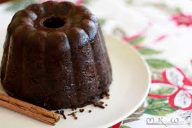 vegan plum pudding with butter the miss kitchen