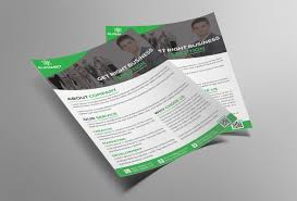 corporate business flyer psd template free download coding bank
