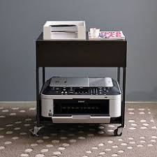 Under Desk Printer Stand With Wheels Best 25 Printer Storage Ideas On Pinterest Office Shelving