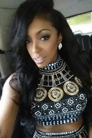 what type of hair does porsha stewart wear porsha williams stewart an american television personality on