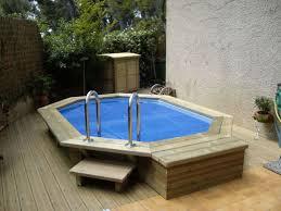 amenagement autour piscine hors sol ordinaire piscine hors sol bois pas cher 4 piscine semi