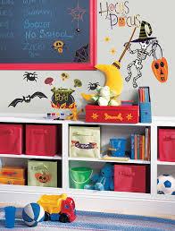 halloween decals roommates pj2003scs happy halloween peel u0026 stick wall decals