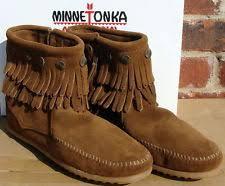 womens fringe boots size 11 s suede fringe boots ebay