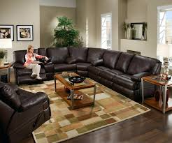 Power Sofa Recliners Leather by Leather Sectional With Electric Recliners Chic Clive Power