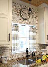 dishtowel curtains kitchen curtains farmhouse kitchens and kitchens