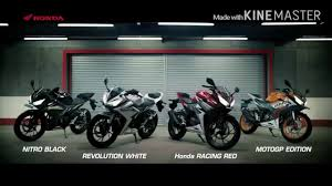 honda cbr bike models new honda cbr 150 r 2016 india youtube
