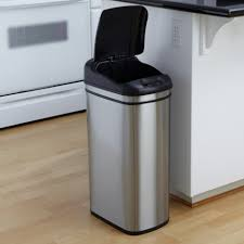Large Kitchen Garbage Can Kitchen 46 Trash Cans For Recycling Kitchen Garbage Cans Walmart