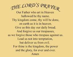 saint augustine on the lord u0027s prayer