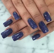 purple glitter sns dip powder nails love the concept and ease