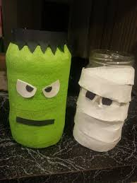 Halloween Jars Crafts by Mason Jar Halloween Decor Part Ii The Not So Crafty Mom
