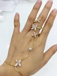 bracelet chain ring images Bracelet ring chain jpg