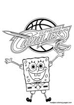 lakers coloring pages cleveland cavaliers nba coloring pages