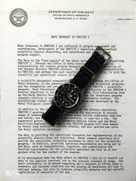rolex ads 2015 prototype single red rolex sea dweller of ian koblick tektite