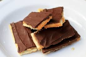 chocolate toffee cracker bars