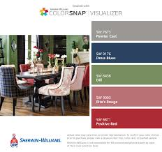 sherwin williams positive red sw 6871 red family my dining room