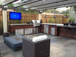 kitchen outdoor ideas outdoor kitchen and patio ideas bews2017