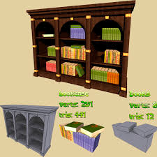 tree bookcase design with dark green color and have a