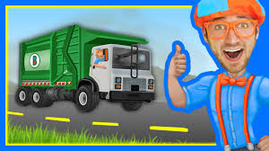 garbage trucks for kids surprise the garbage truck song by blippi songs for kids