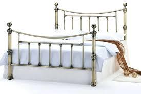 Iron Bed Frames King Iron Bed Frame Vintage Metal Frames Ikea