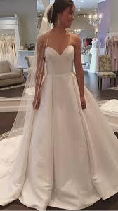 satin wedding dresses wedding dresses wedding gown white sweetheart satin wedding dress