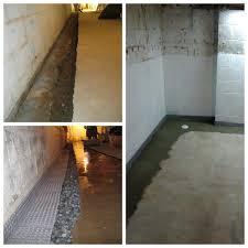 basement waterproofing gallery waterproofing one