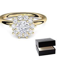 verlobungsringe gold diamant verlobungsring gold ring diamant 585 inkl luxusetui diamant